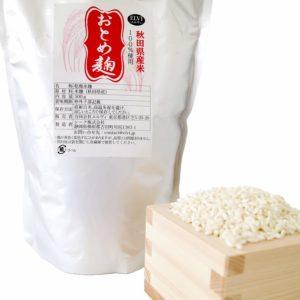 アマゾンで米麹 スッキリとした甘さ 秋田県産米100%使用『おとめ麹』500gが249円。