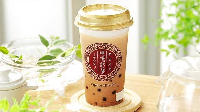 ローソンストア100で100円タピオカミルクティーが販売開始。9/4~。