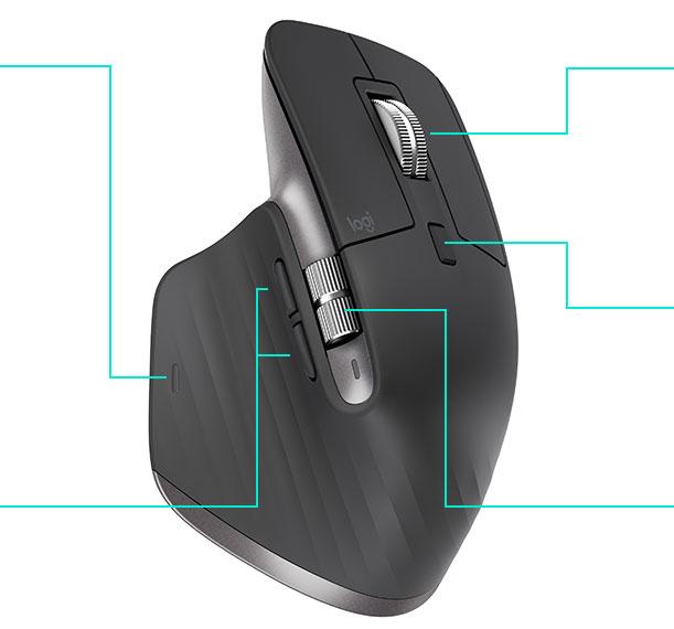 米国でロジテックがハイエンドマウスの「MX Master 3」とキーボードを「MX Keys」発表へ。発売は9月中。