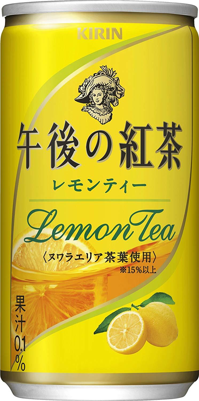 アマゾンでキリン 午後の紅茶 レモンティー 缶 (185g×20本)がセール中。