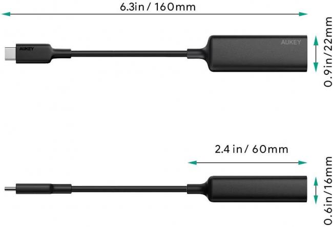 アマゾンでAUKEY USB-C 有線LAN アダプター CB-A30の割引クーポンを配信中。