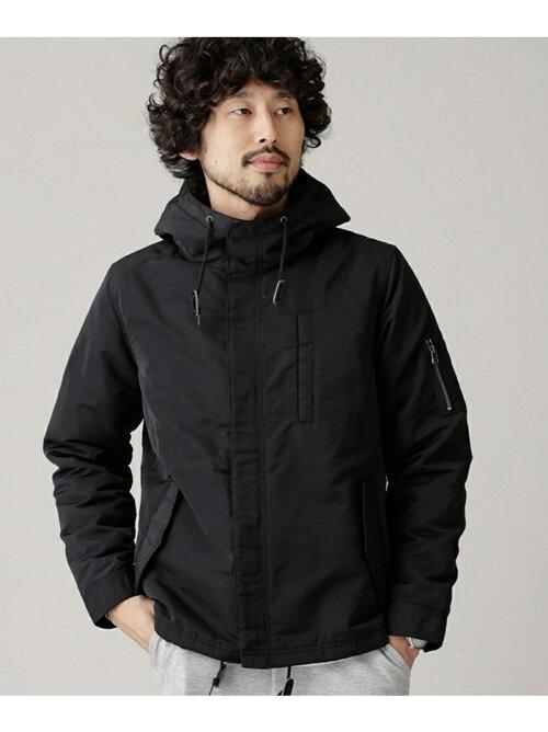 楽天ブランドファッションでナノユニバース 中綿ショートモッズコートが半額近いセール。