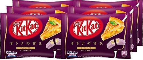 アマゾンでネスレ日本 キットカットミニオトナの甘さ アップルパイ味 12枚 ×6袋が4割引&30%オフクーポン配信中。