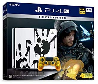 アマゾンでPlayStation 4 Pro DEATH STRANDING LIMITED EDITIONがタイムセール。47,189円⇒40,678円。