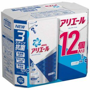 アマゾンでアリエール 洗濯洗剤 液体 イオンパワージェル 詰め替え ケース販売用 720gx12の半額セールを開催中。