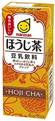 アマゾンでマルサン 豆乳飲料 ほうじ茶 200ml ×24本がセール中。炭水化物多すぎ、タンパク質少な過ぎの豆乳のフリしたゴミ飲料?