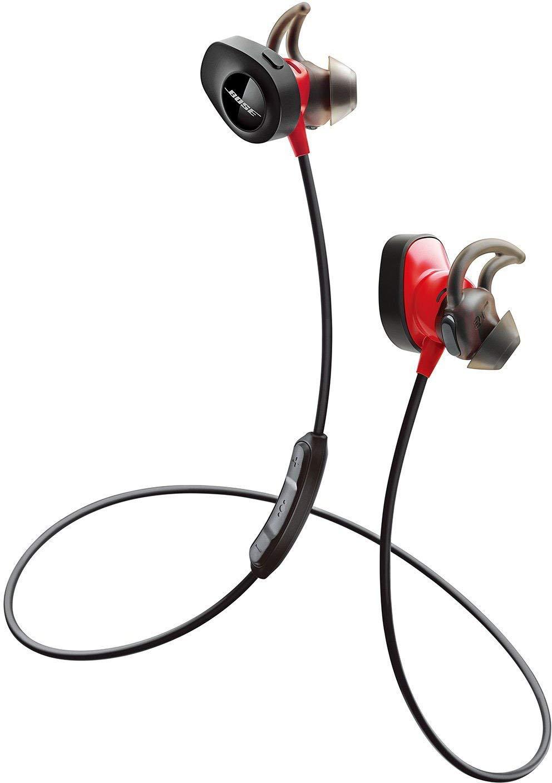 アマゾンでBose SoundSport Pulse wireless headphones ワイヤレスイヤホンがセール中。