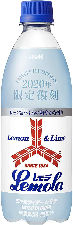 アマゾンでアサヒ飲料 「三ツ矢サイダー」レモラ 500ml ×24本がセール中。レモンライムではない。