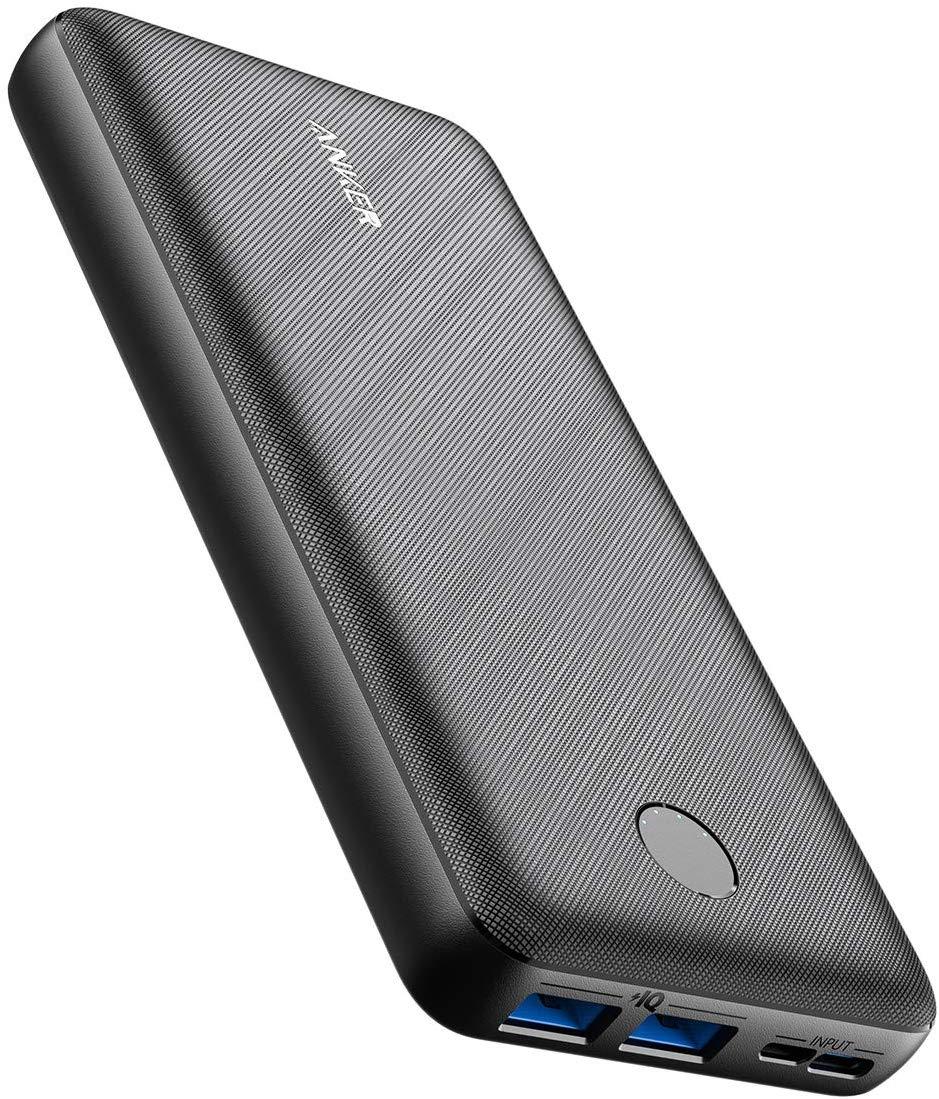 アマゾンでAnker PowerCore Essential 20000 モバイルバッテリー がセール中。