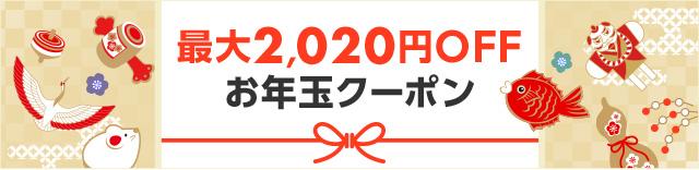 【特定限定】楽天でほぼ全ショップ、4万店舗以上対象、25000円以上で使える2020円クーポン、8000円以上500円オフクーポンを配信中。