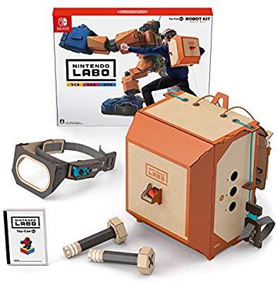 【8割引】アマゾンでNintendo Labo (ニンテンドー ラボ) Toy-Con 02: Robot Kit – Switchが1416円の投げ売りへ。