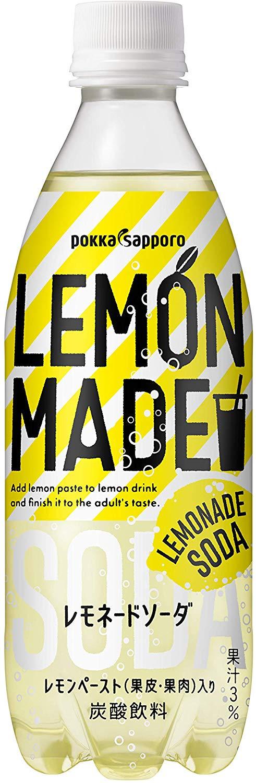 アマゾンでポッカサッポロ LEMON MADE レモネードソーダ 500ml ×24本の半額クーポンを配信中。