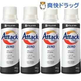 楽天でアタック ZERO(ゼロ) 洗濯洗剤 液体がポイント半額バック。生乾き臭がひどいので投げ売り。