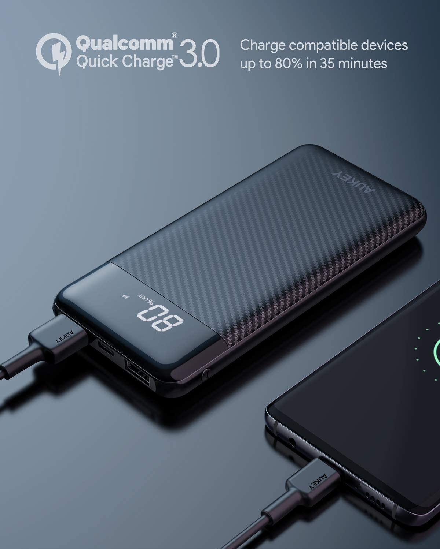 AUKEY モバイルバッテリー  10000mAh PB-Y33の割引クーポンを配信中。