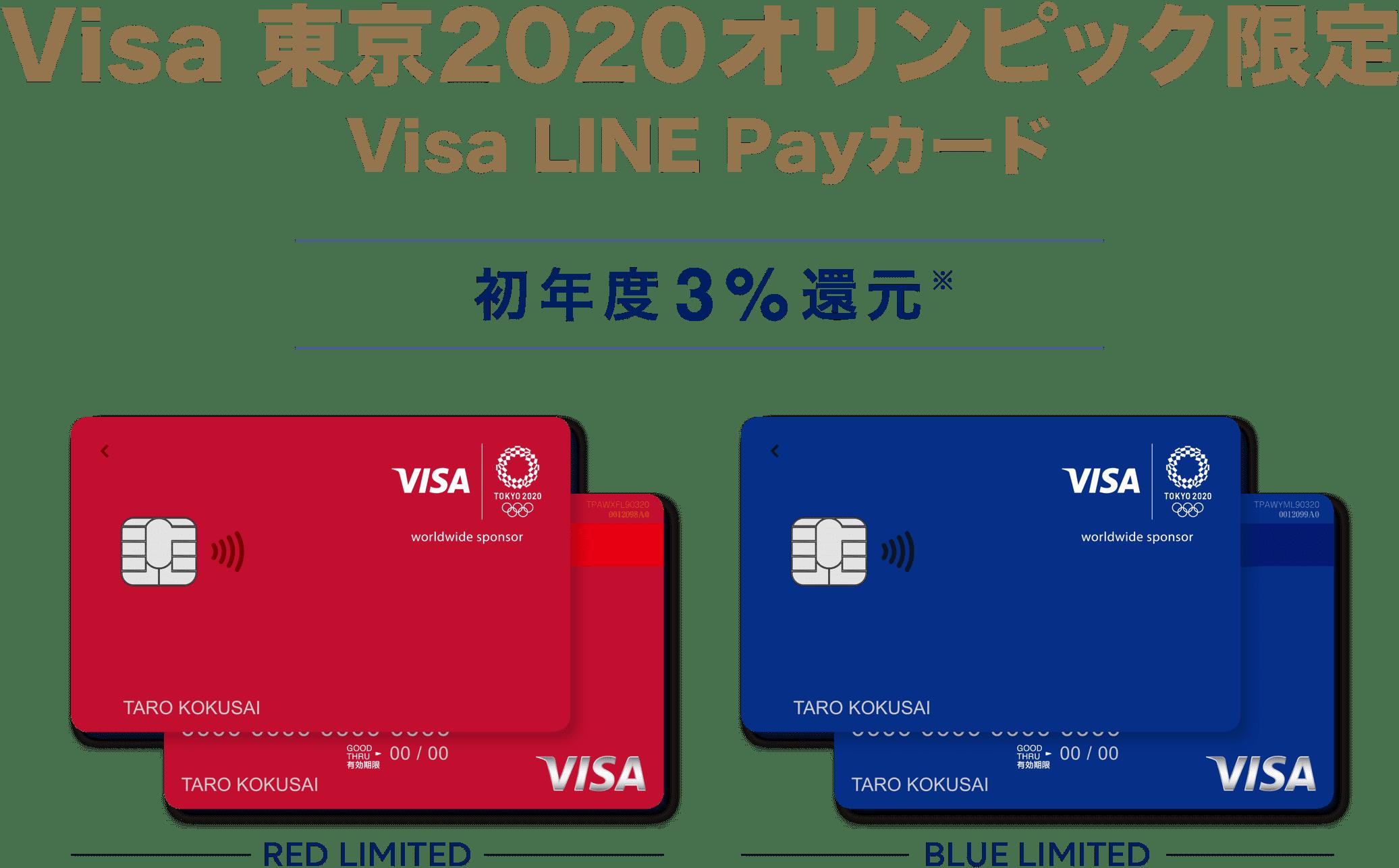 還元率初年度3%のVisa LINE Payカードは結局三井住友カードから発行へ。オリコとかいらんかったんや。