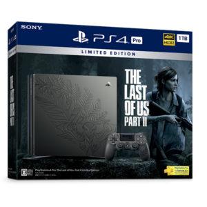 ヨドバシで「PlayStation 4 Pro The Last of Us Part II Limited Edition」が定価で予約受付中。ポイント5%。6/19~。