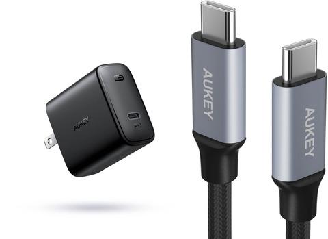 アマゾンでAUKEY 充電器 USB-C急速充電器 アダプタ 30W 最小・最軽量クラス 折畳式 PA-F2の割引クーポンを配信中。