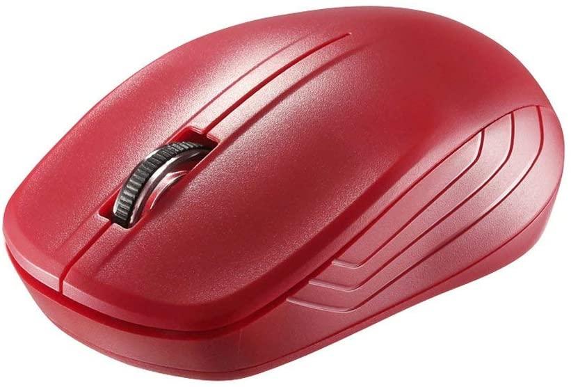 アマゾンでiBUFFALOの3ボタンマウスが288円。予備マウスにどうぞ。