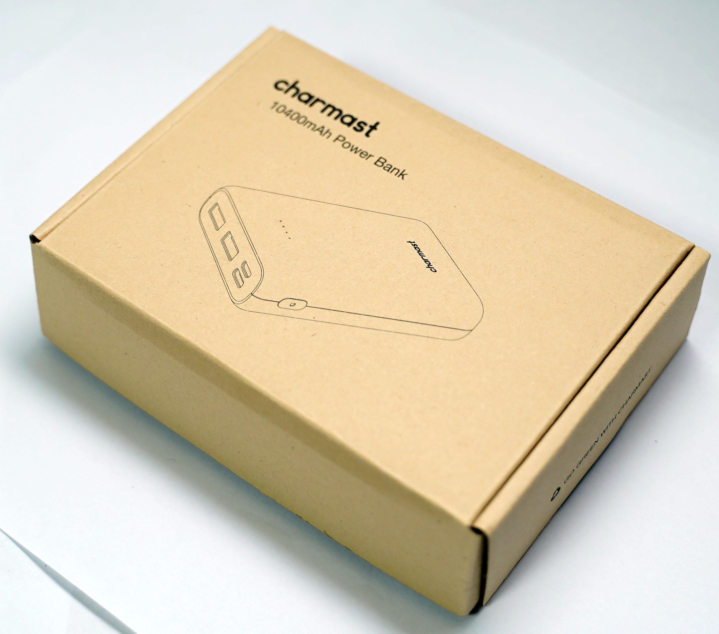 【レビュー】モバイルバッテリー Charmast 10400mAhを買ってみた。