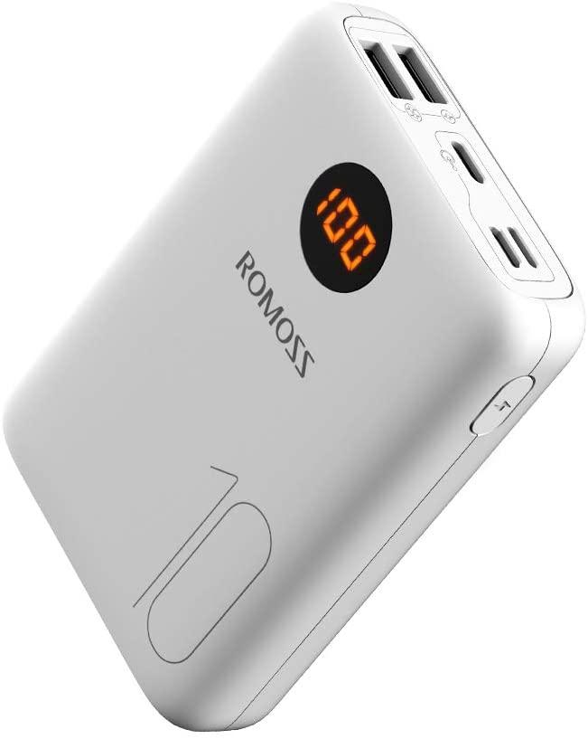 アマゾンでROMOSS モバイルバッテリー 10000mAH OM10が771円。