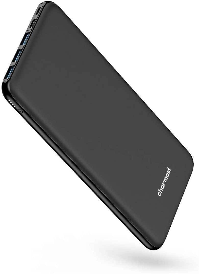 アマゾンでCharmast モバイルバッテリー 26800mAh 45W出力が1350円。
