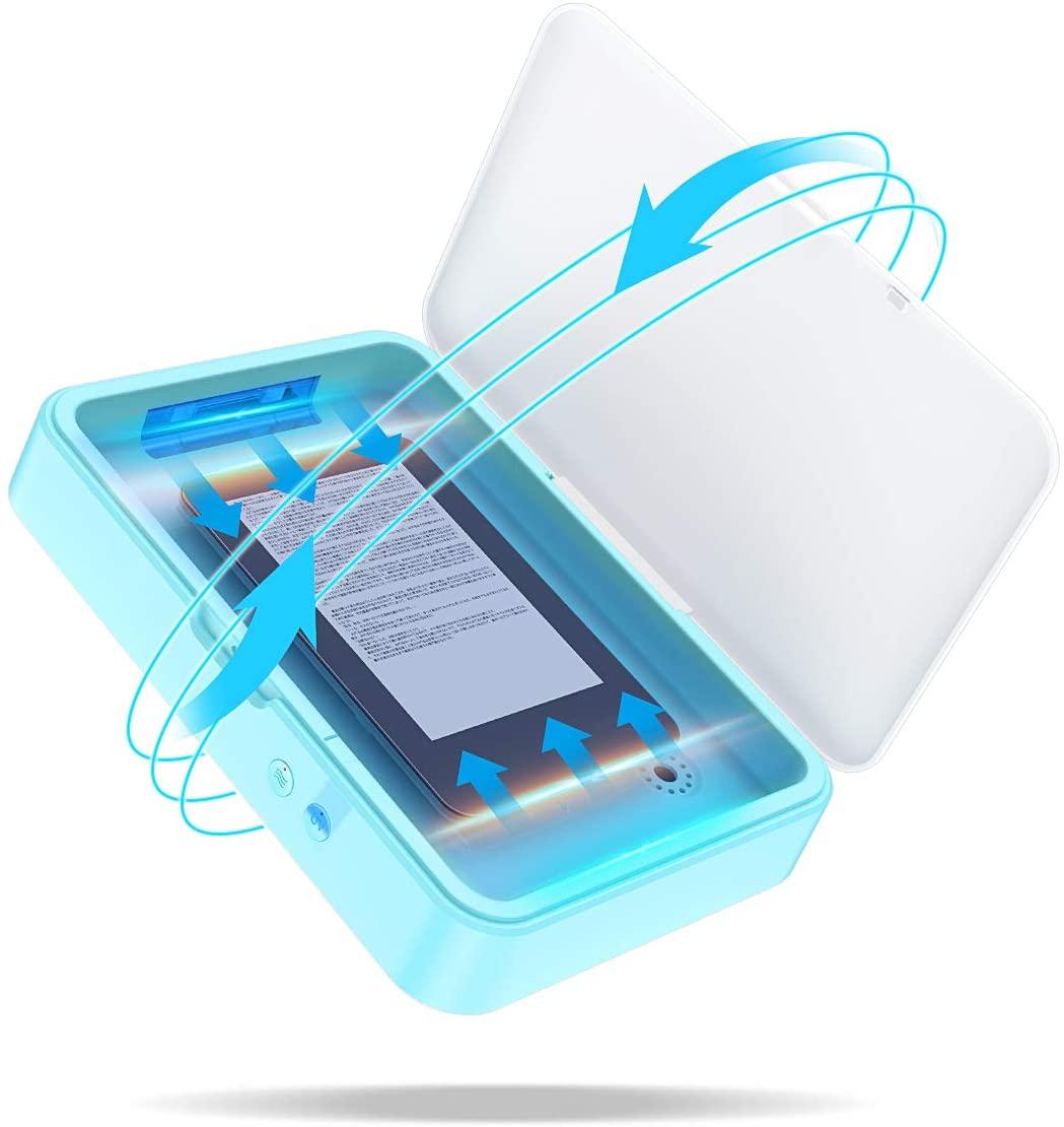 アマゾンで除菌器 UVボックス iPad(mini)が6割引。