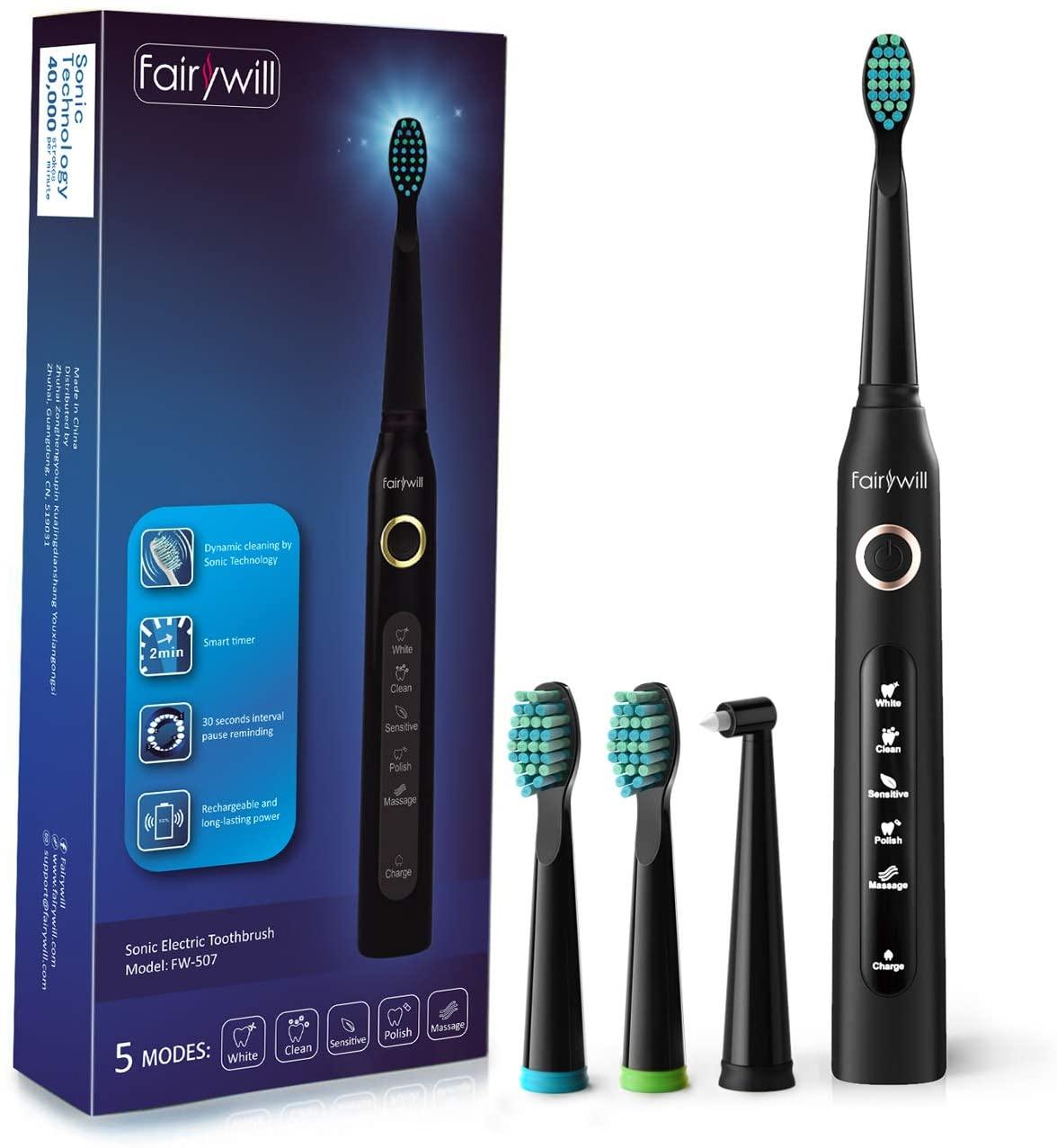 アマゾンで電動歯ブラシFW-507の割引クーポンを配信中。