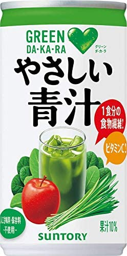 サントリー Green DAKARA やさしい青汁 190g ×30本の割引クーポンを配信中。砂糖多すぎデブ製造機。