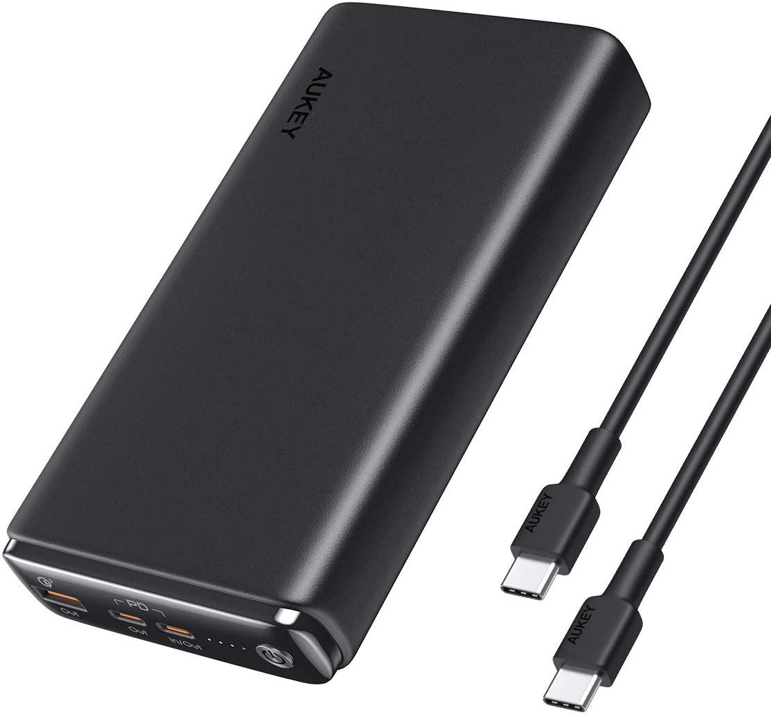 AUKEY モバイルバッテリーPC専用 26800mAhの割引クーポンを配信中。