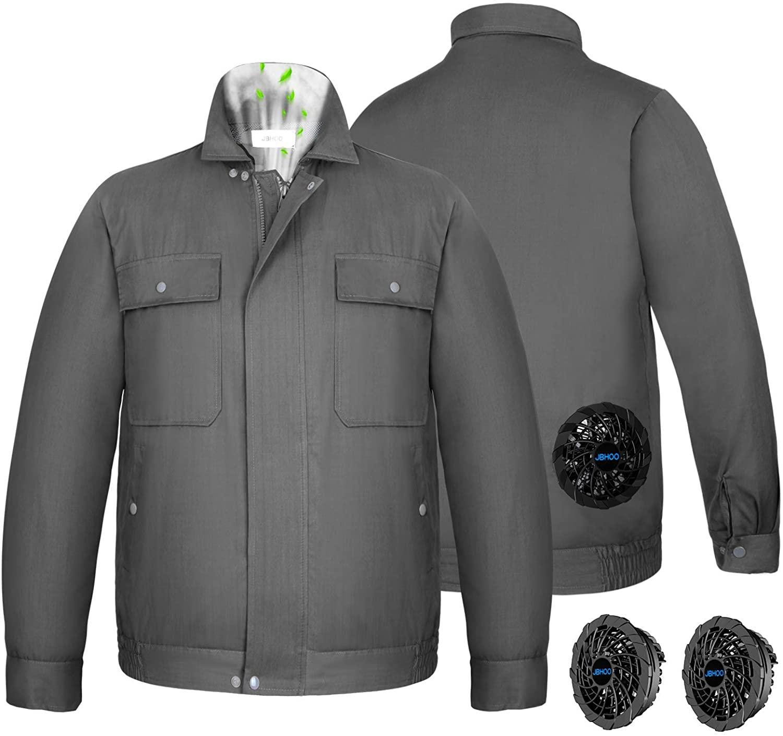 アマゾンで中華製 NOBURIN 空調服 作業服 「綿100%」が2重割引。