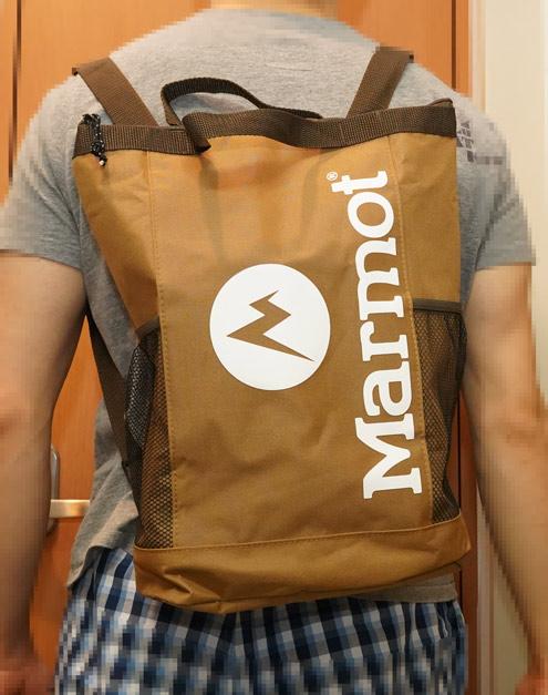 【レビュー】雑誌のモノマックス2020年 8月号でマーモットの保冷バッグを買ってみた。やっぱり糞だった。