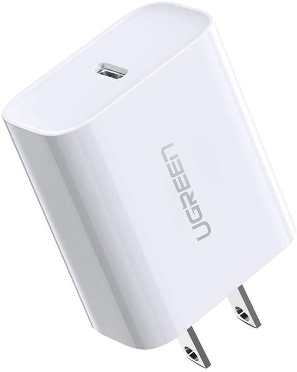 アマゾンでUGREEN USB-C充電器 PD3.0 急速充電 18W Type-C1個しかないが1039円。