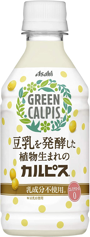 アマゾンでアサヒで乳飲料の「GREEN CALPIS」が半額セール。