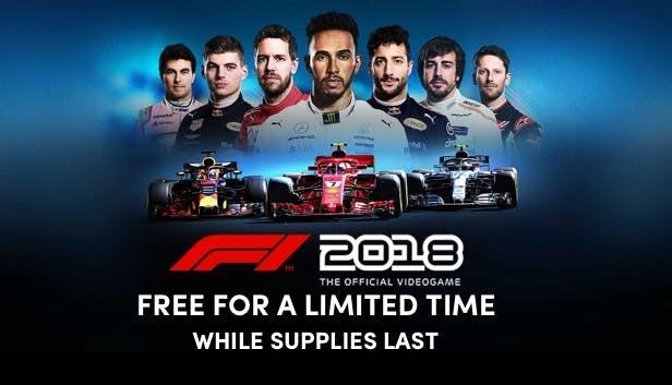PCゲーム「F1 2018」がhumblebundleにて無料配布中。~8/11 朝5時。元値は45ドル。