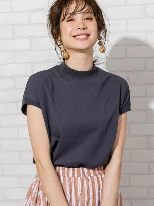 楽天ファッションでcoenのUSAコットンハイネックTシャツ#(モックネック)が半額&15%バック。何故か売れ筋No1。