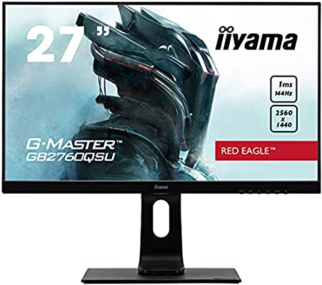 アマゾンでiiyama ゲーミングディスプレイ 27インチ G-MASTER GB2760QSU-B1がカカクコムぶっちぎりセール。