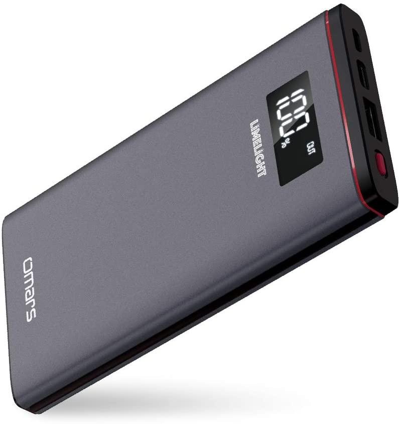 アマゾンでOmars USB C PD充電器やモバイルバッテリーが大量に割引セール中。物によっては半額。