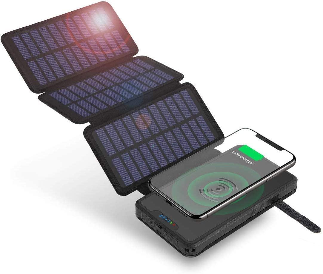 アマゾンでSoluser  ソーラーチャージャー12000mAhの割引クーポンを配信中。