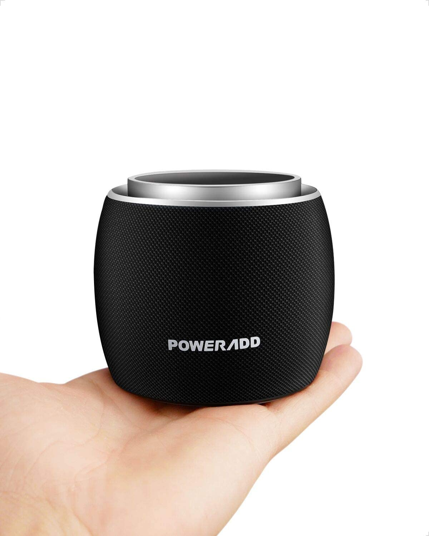 アマゾンでPoweradd ポータブル Bluetoothスピーカー Dee-G mini 5Wホーンが1040円。