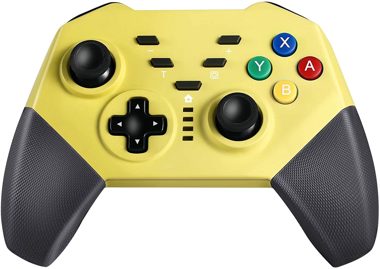 アマゾンでIVSO Nintendo Switch コントローラーが半額。なんとなく安っぽいピカチュウ配色が中華らしい。