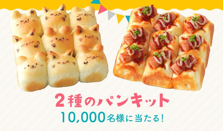 cottaで「くまさんちぎりパン」作成キットが抽選で1万名に当たる。送料は220円。こんなの可愛すぎて犯罪だろ。~9/17。