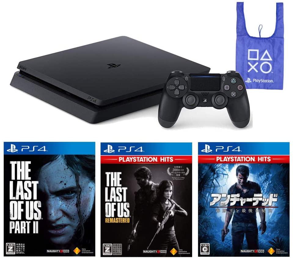 アマゾンでPlayStation 4 + The Last of Us Part I & II アンチャーテッド 海賊王と最後の秘宝がタイムセール予定。