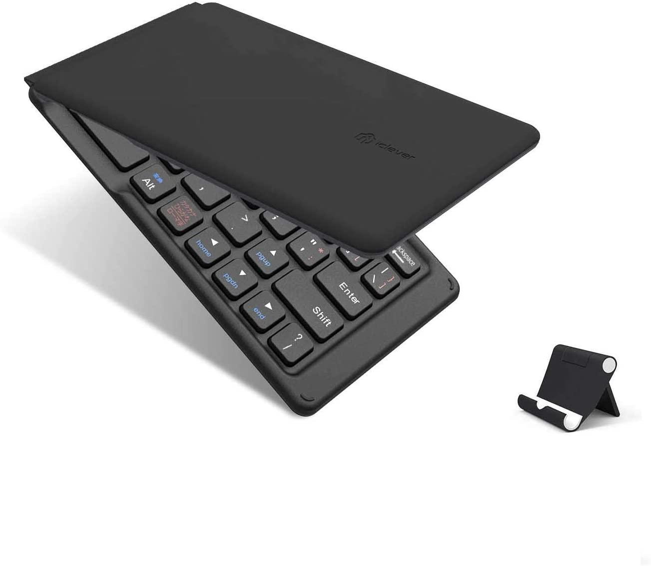 アマゾンで折りたたみキーボード界では有名なiCleverの割引クーポンを配信中。