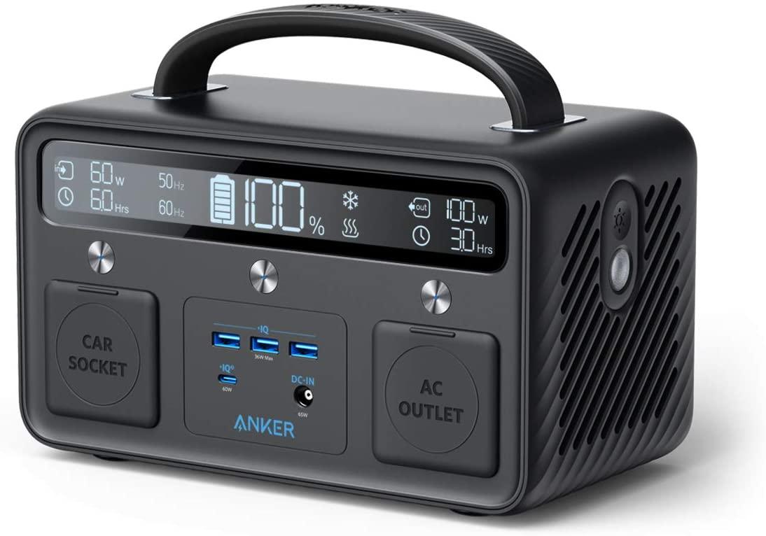 アマゾンでアウトドア/非常用電源のAnker PowerHouse II 400 (ポータブル電源 108,000mAh / 388.8Wh)がセール中。