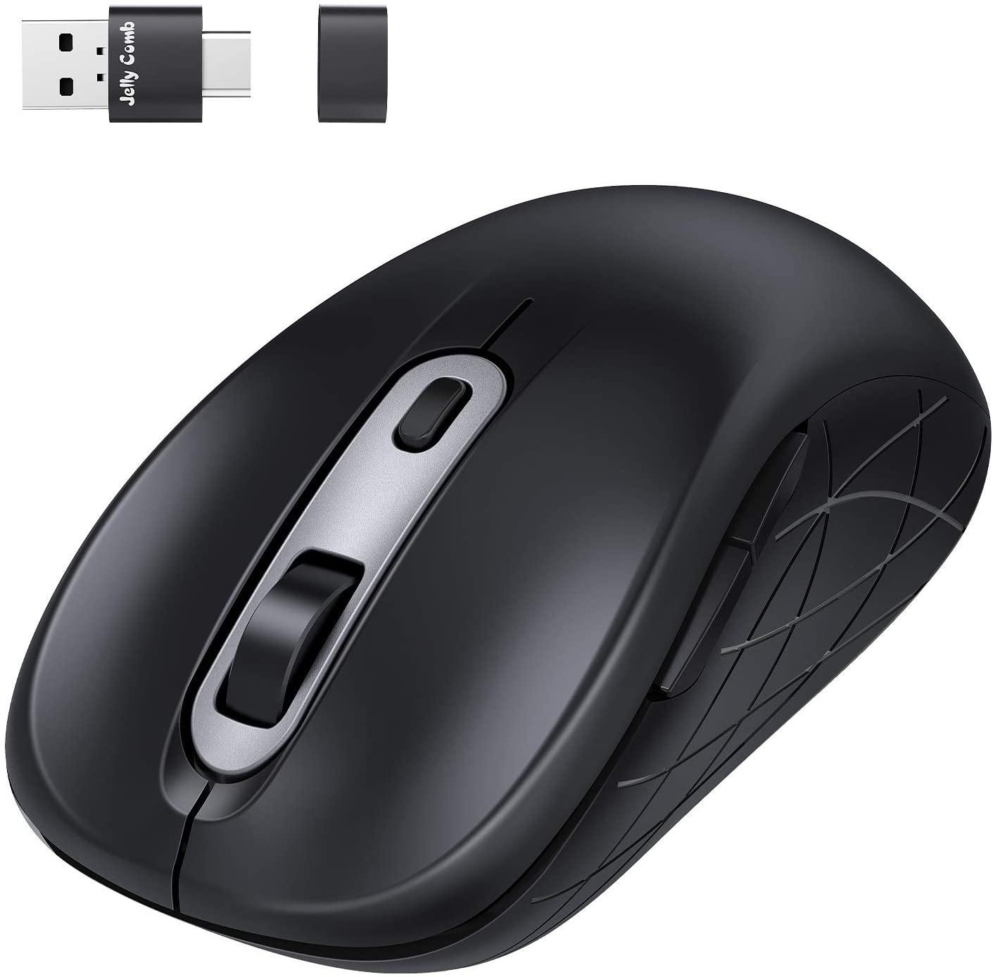 アマゾンでレシーバーが面白い Jelly Comb ワイヤレスマウスが899円。