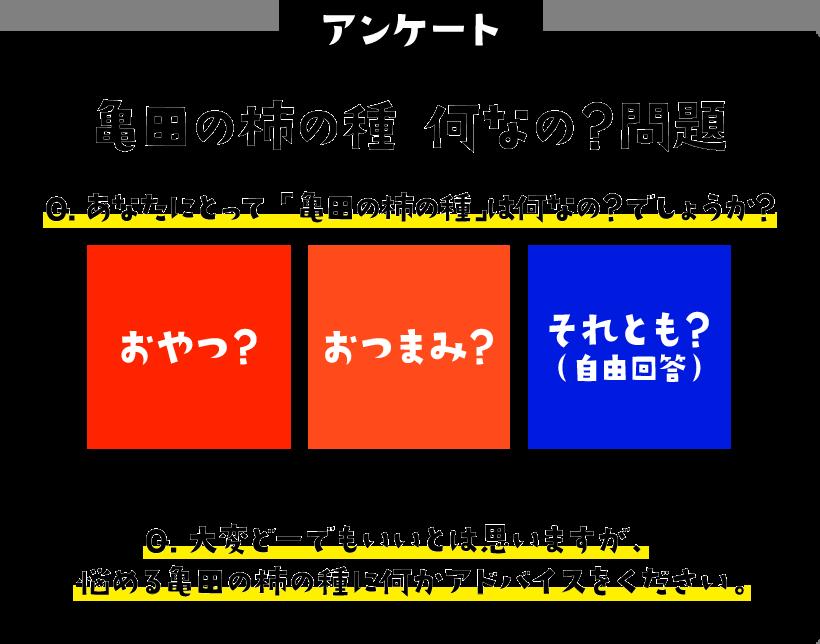 柿の種が「おやつ?」「おつまみ?」「それとも?」に答えると電子マネーEJOICA1000円分が710名、ダイソンなどが300名に当たる。~11/10 17時。