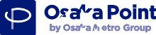 大阪応援ポイントOsaka Point300ポイントを利用すると100ポイントバック。7/22~7/31。