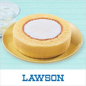 auスマートパスで「ローソン プレミアムロールケーキ」が25万名に当たる。
