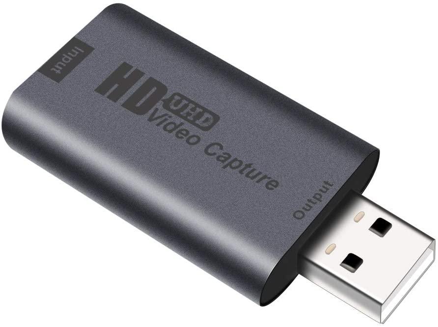 アマゾンでShuOne HDMIキャプチャーボードが599円。USB2.0でかなりローエンド。