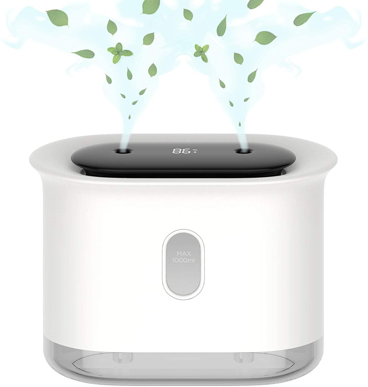 アマゾンで中華製加湿器の割引クーポンを配信中。洗濯物の室内干しに飽きた人向け。カメラユーザーは使用禁止。